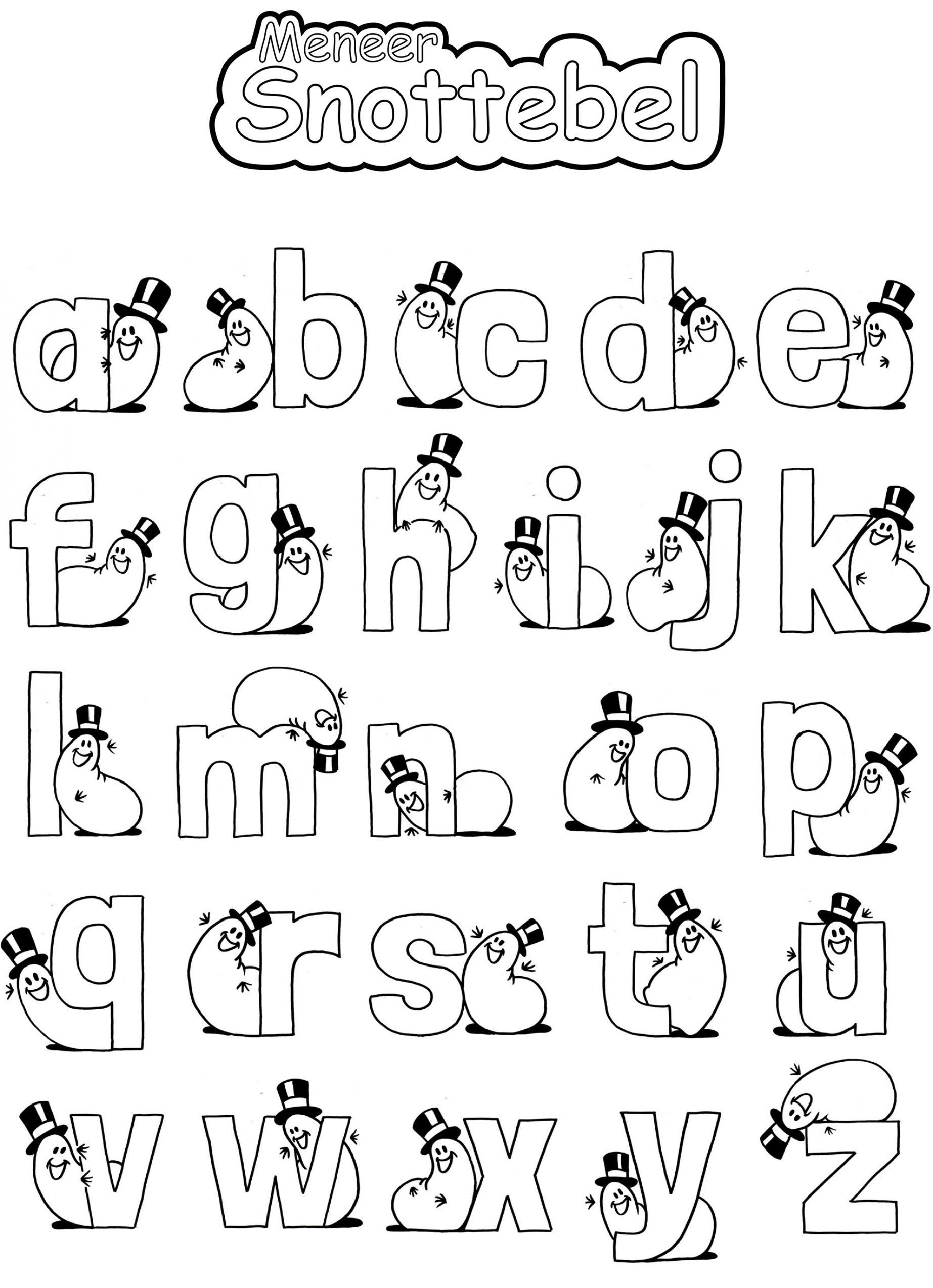 kleurplaat_alfabet-meneer-snottebel_meneersnottebel.jpg
